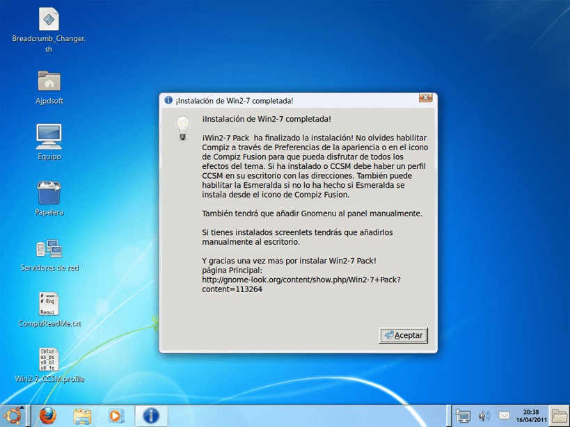 Tema Windows 7 Para Gnome