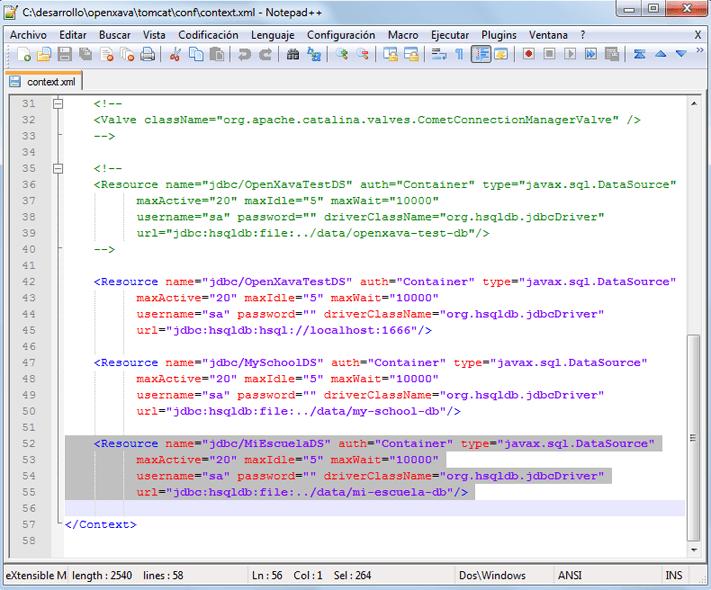Desarrollar aplicación web profesional con OpenXava y Eclipse de