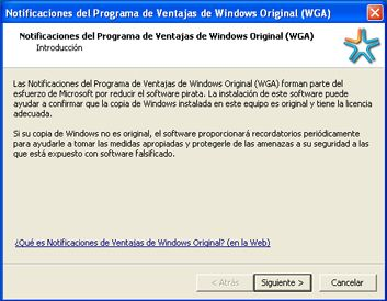 Eliminar Cartel de Notificacion de Windows Original (WGA)