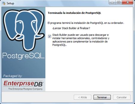 AjpdSoft Cómo descargar e instalar PostgreSQL 9 en Microsoft Windows 7