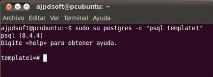 AjpdSoft Descargar e instalar PostgreSQL 8.4 en GNU Linux Ubuntu  10
